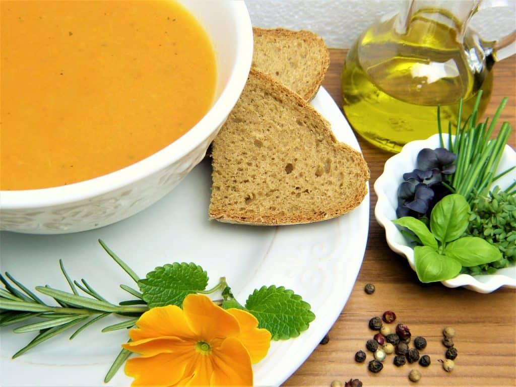 ซุปแครอตกับถั่ว อาหารต้านมะเร็ง