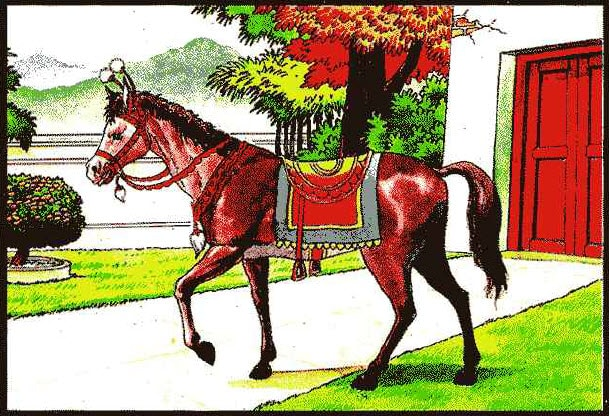 ม้าอัศวราช ธาตุไฟในแก้ว ท่านว่าผู้นั้นจะได้มียศฐานบรรดาศักดิ์มีที่พึ่งอาศัย คนอุปถัมภ์ค้ำชู