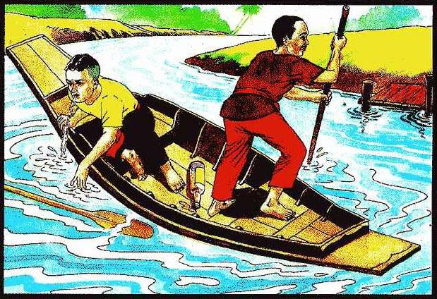 คนเมาพายเรือ ท่านว่าผู้นั้นมักขี้โรค เจ็บไข้ได้ป่วย อยู่เสมอ มีเงินทองของรักมักเก็บไม่อยู่