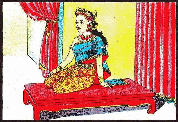นางพระยานั่งแท่น ท่านว่าผู้นั้น จะมีโชควาสนาได้ลาภจากคนทั่วไปเสมอ ๆ