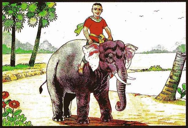 มนุษย์ขี่ช้าง ท่านว่าผู้นั้น มักจะลำบากในวัยเด็กตองพลัดพรากจากพ่อแม่ เมื่อเติบโตวัยชรา